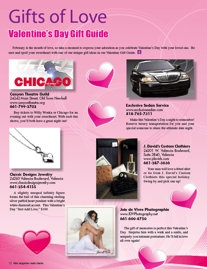 Gift of Love Valentine's Day Gift Guide