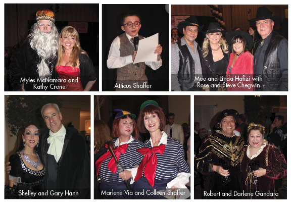 A Celebration of the Passages in Time 2012 Celebrity Waiter Dinner and Auction