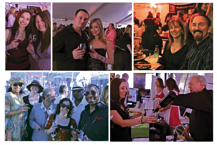 Wine Lovers Gathered for a Good Cause Santa Clarita WineFest 2012