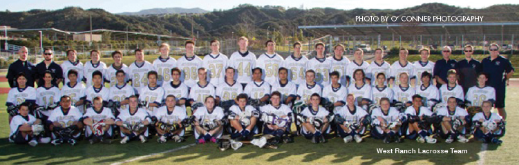 A First in the SCV West Ranch High School Lacrosse Team