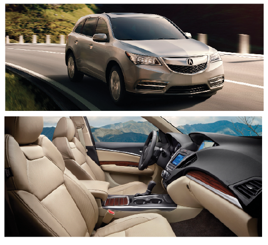 Take a Drive with the All New Acura 2014 MDX