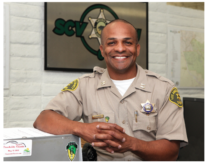 There's a New Chief in Town Introducing Captain Roosevelt Johnson