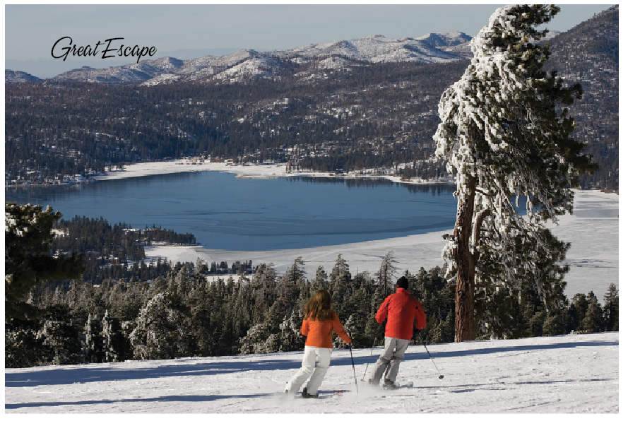 Romance and Snowflakes Fill the Air in Big Bear!