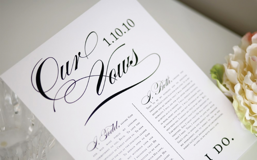 For Better or Verse – The 10-step guide to writing vows that last forever