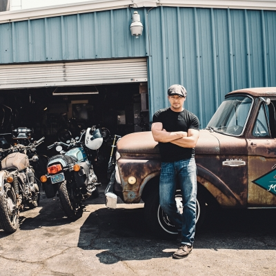 Dustin Kott – Motorcycle engineer shares his passion for the ride, the build and the fight to remain authentic