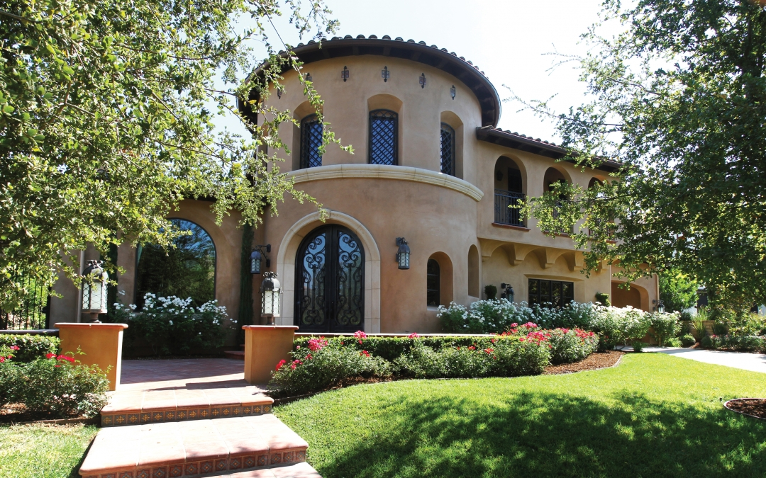 Elegance in the Details – A Spanish colonial holds true to its style in this masterfully decorated Westridge mansion