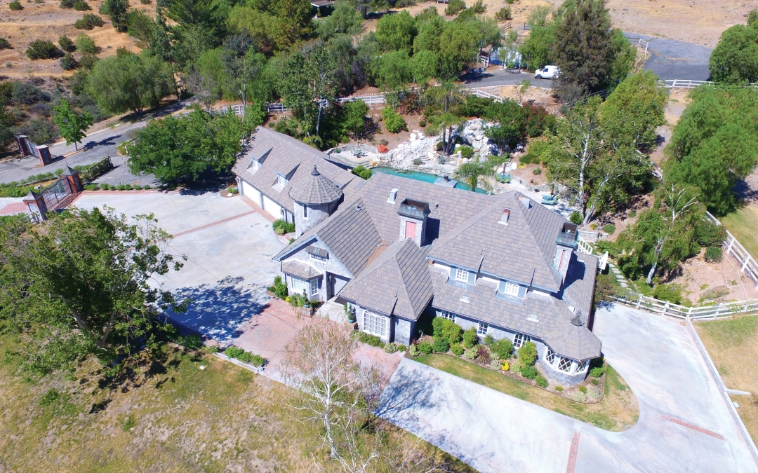 Stunning Resort-Like Estate with Two Guest Quarters on Five Acres