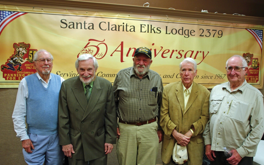 Elks Lodge Commerates 50 Years of Sharing and Caring