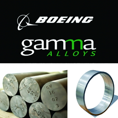Boeing Horizon X Invests in Advanced Materials Producer Gamma Alloys
