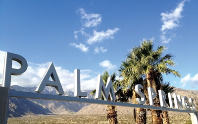 The Secret Is Out…. PALM SPRINGS is back in all her colorful, diverse glory.