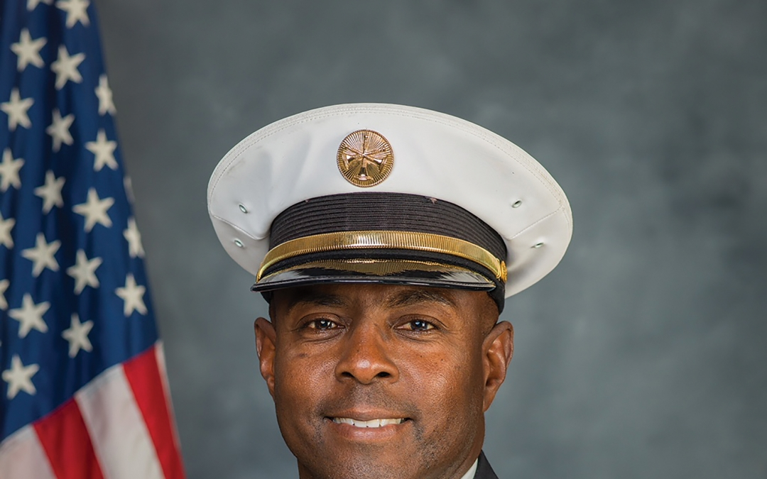 The Man Behind the Uniform:  Anderson Mackey Assistant Fire Chief