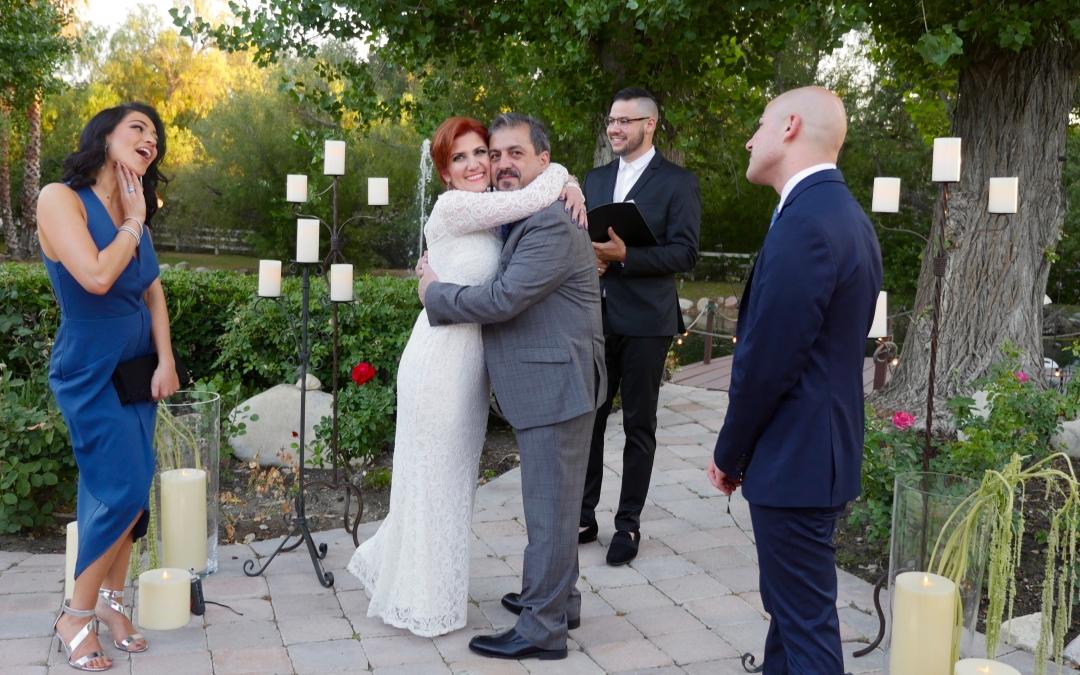 Congratulations Tony & Rozy Taban