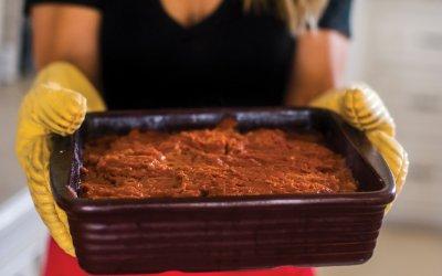 Self-Care and Polenta Lasagna