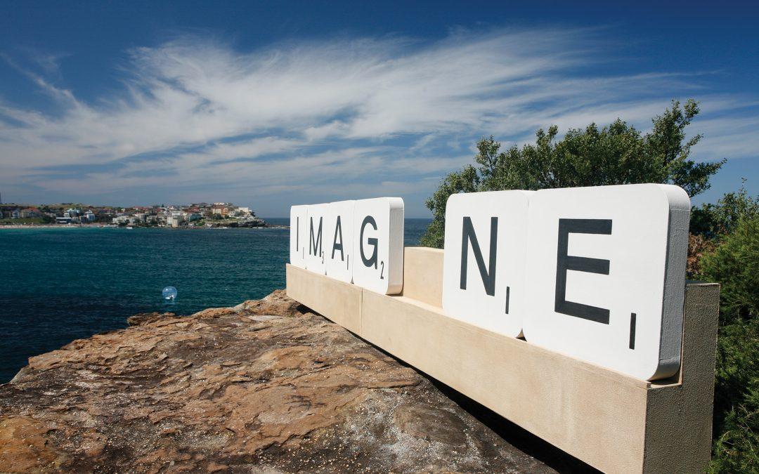 New Art Piece at Valencia Library Invites Public to Imagine