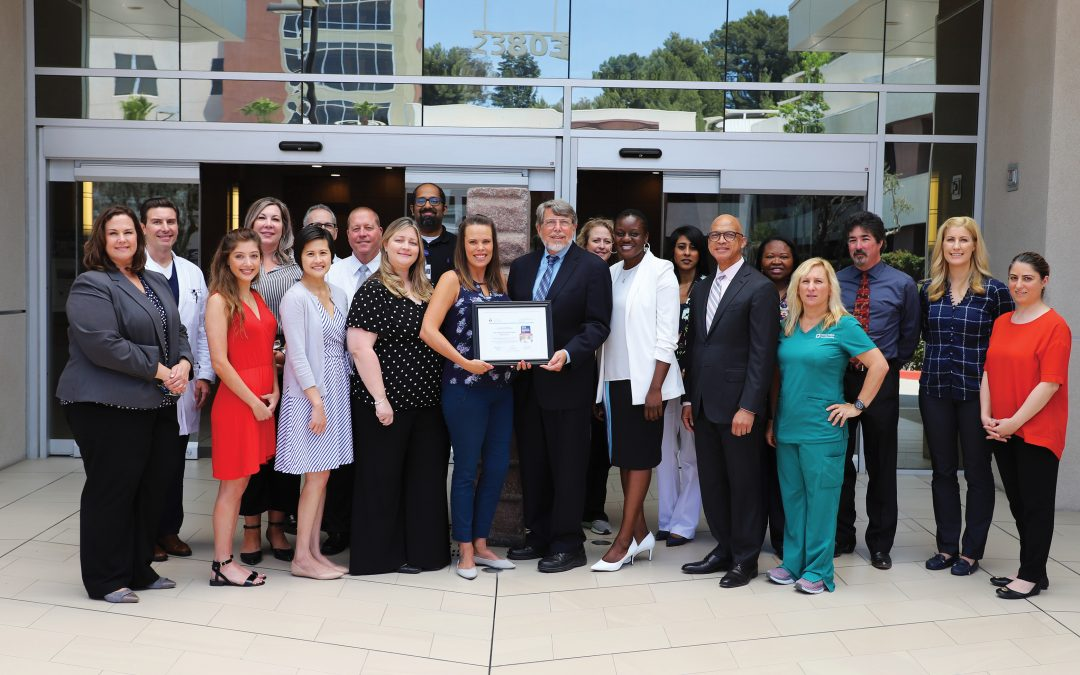 Henry Mayo Newhall Hospital Receives Get With The Guidelines -Stroke Gold Plus Quality Achievement Award