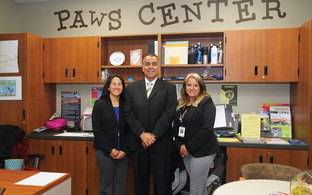 Golden Valley High School's PAWS Center