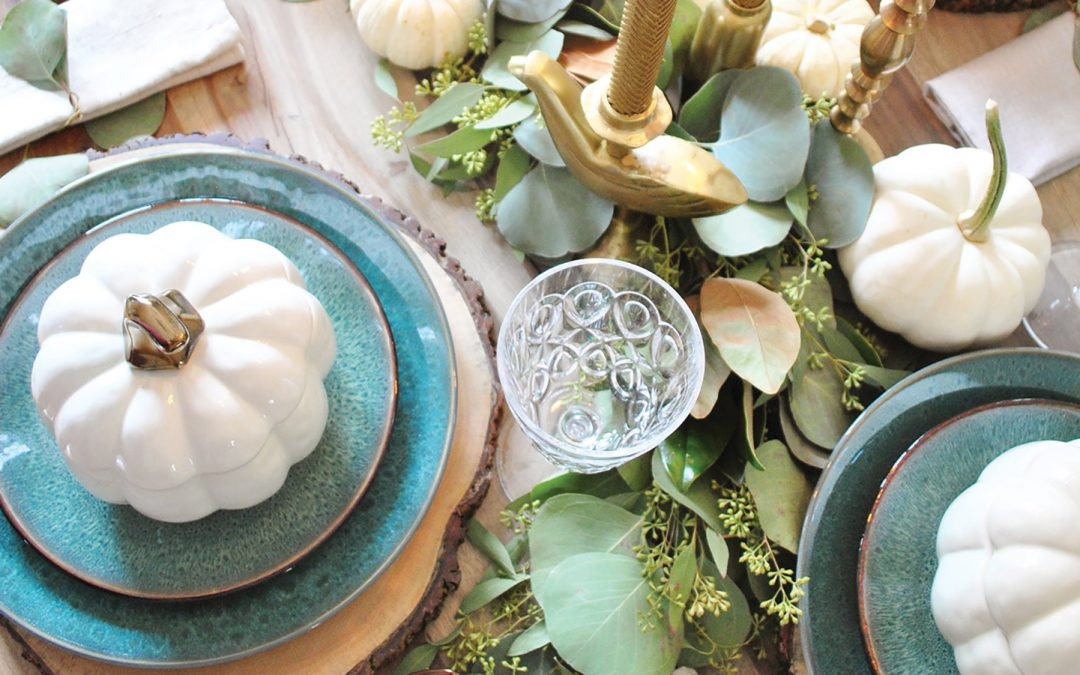 Welcome to Our Table – Fresh Table Décor Ideas for Turkey Day