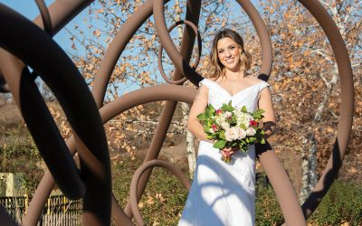 Add Public Art to Your Engagement Photos