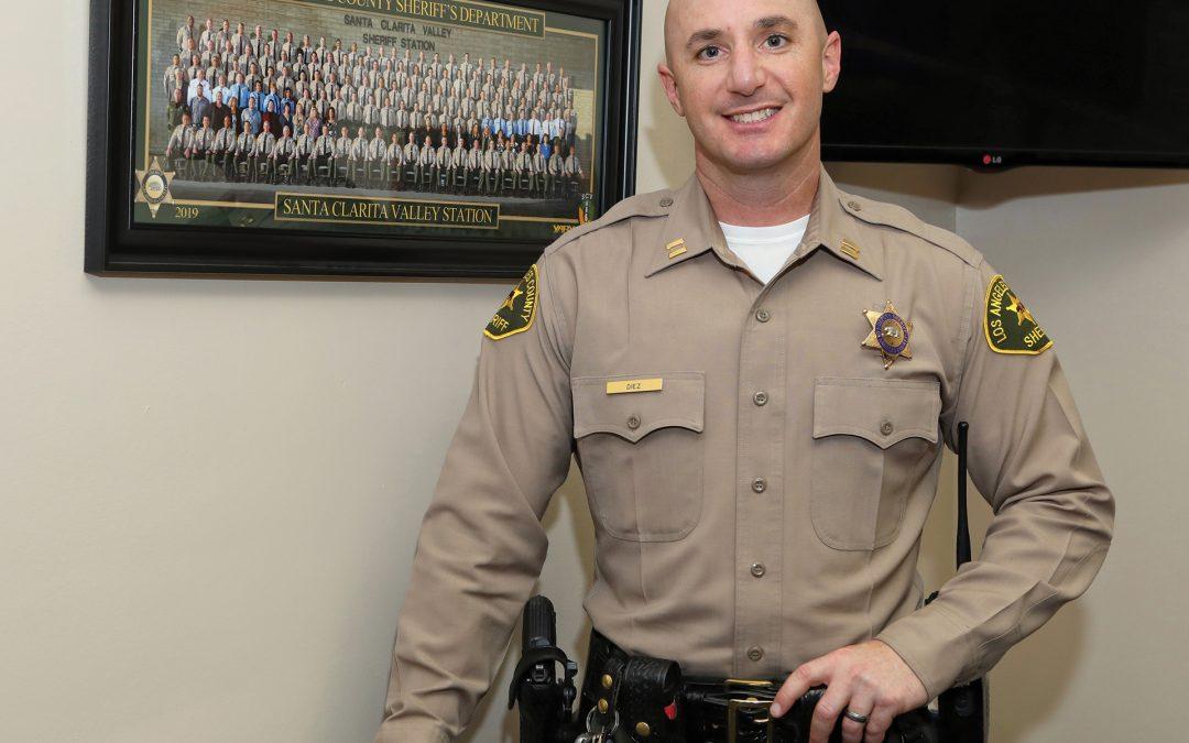 Meet the New Santa Clarita Valley Sheriff's Captain – Justin Diez