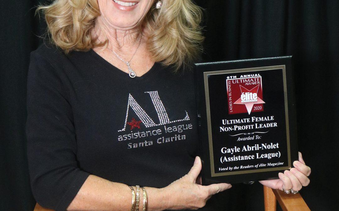 Ultimate Female Non-profit Leader Gayle Abril-Nolet (Assistance League)