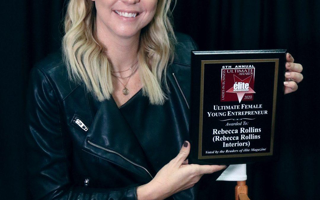 Ultimate Female Young Entrepreneur Rebecca Rollins-Garcia (Rebecca Rollins Interiors)