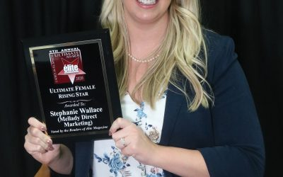 Ultimate Female Rising Star Stephanie Mellady Wallace (Mellady Direct Marketing)
