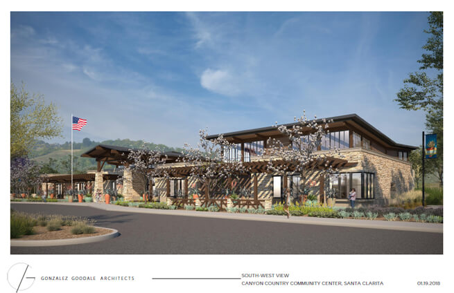 Canyon Country Community Center Will Feature a Wide-Range of Public Art Pieces