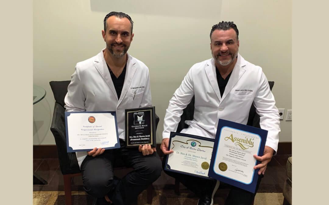 Ultimate Male Dentists Drs. Ben & Shawn Javid • Promenade Dentistry