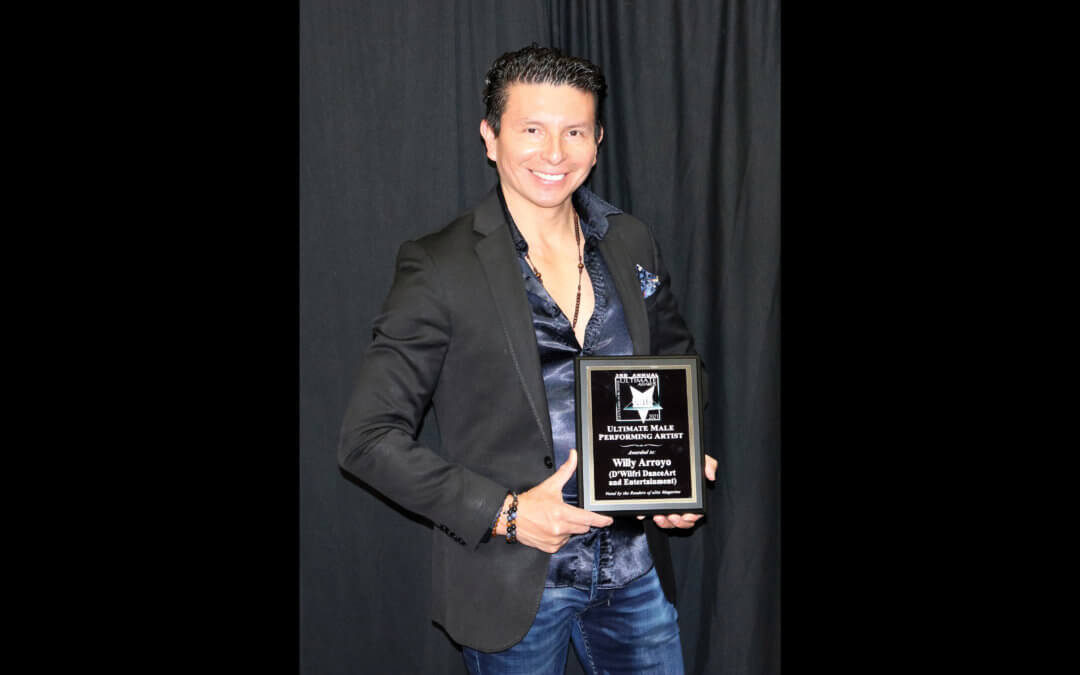 Ultimate Male Performing Artist Willy Arroyo • D'Wilfri DanceArt and Entertainment