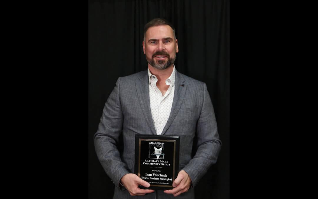 Ultimate Male Community Spirit Ivan Volschenk • Evolve Business Strategies