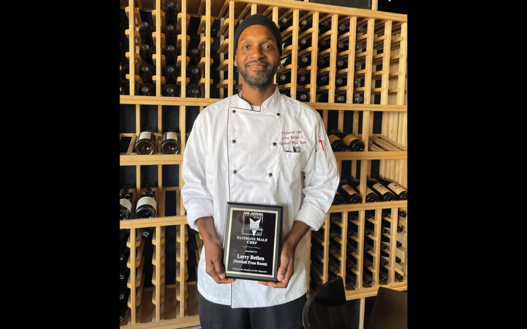 Ultimate Male Chef Larry Bethea • Newhall Press Room