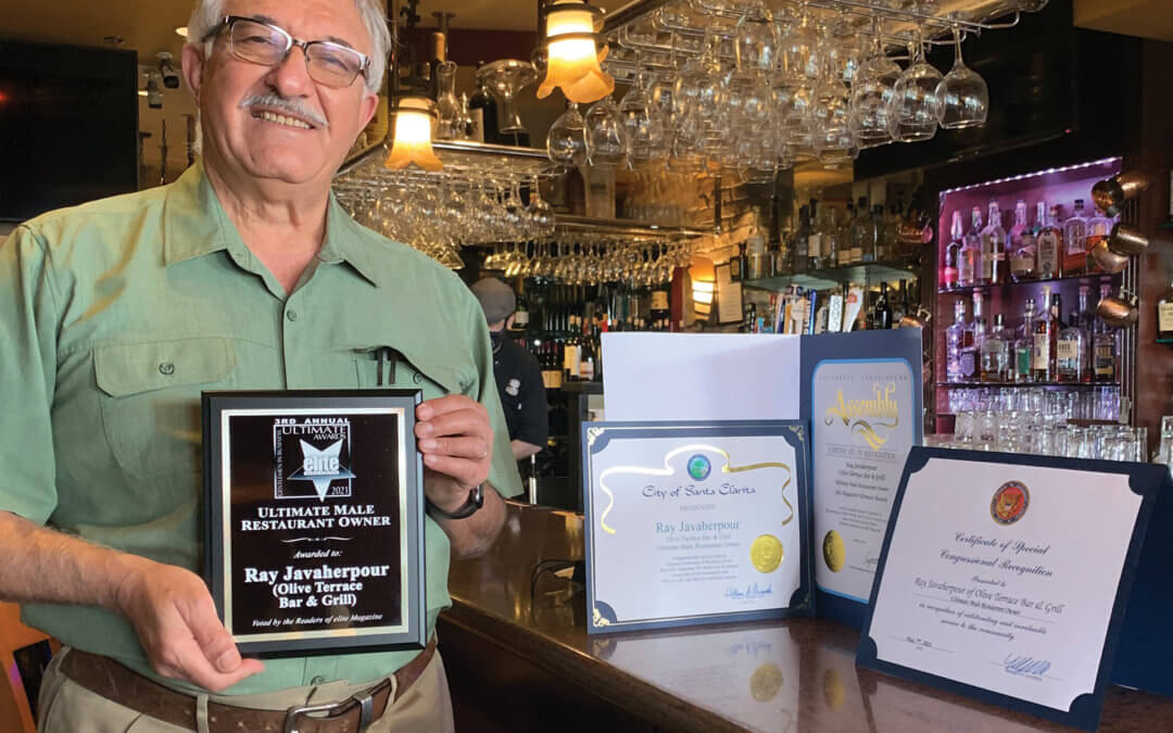 Ultimate Male Restaurant Owner Ray Javaherpour • Olive Terrace Bar & Grill