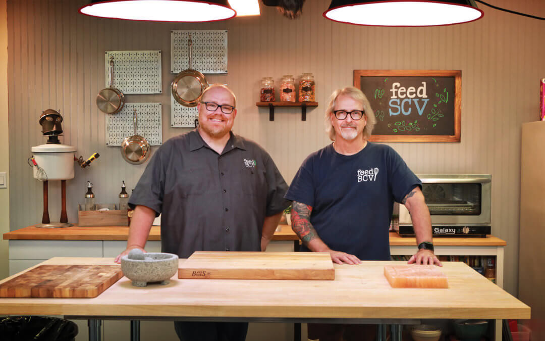 Todd Wilson and Scott Ervin Co-Founders of FeedSCV